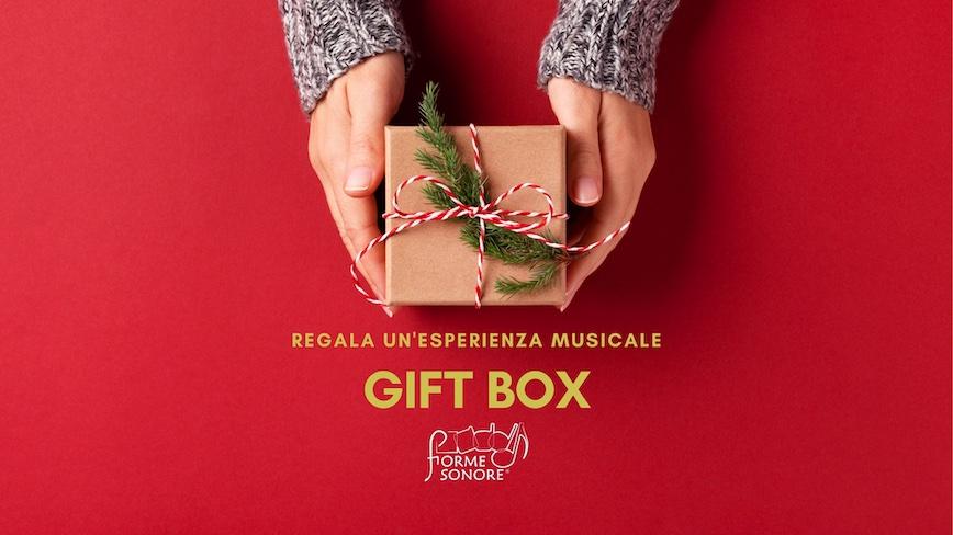 Regala un'esperienza formativa con la Gift BOX di Forme Sonore.
